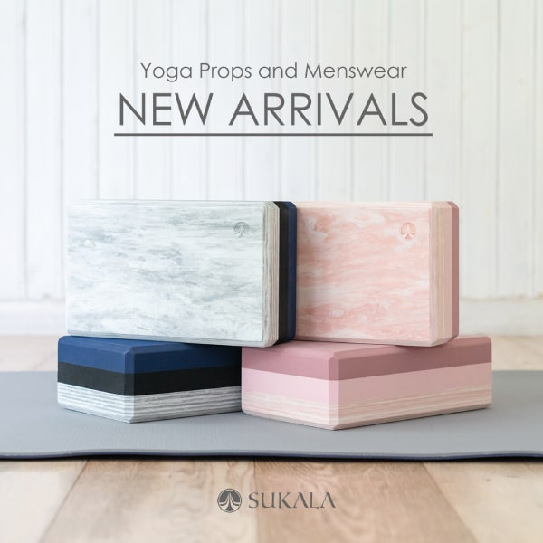 Yoga Props and Menswear NEW ARRIVALS